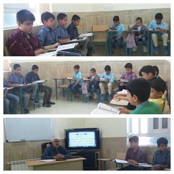 برگزاری کلاسهای قرآن ویژه دانش آموزان